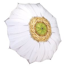 Summer Daisy Stick Umbrella: Rainy days do not have to be boring anymore! Make your own statement with a genuine Galleria Umbrella. They are truly works of art! See our full collection of original artwork and famous artists. Ladies Umbrella, Rain Umbrella, Folding Umbrella, Childrens Umbrellas, Simple Wedding Bouquets, Compact Umbrella, Umbrellas Parasols, Lulu Guinness, Summer Pictures