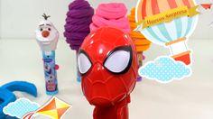 Aprenda colores con Play Doh Pop-Ups Caramelo Juguetes con sorpresa y Hu...