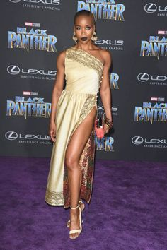 Marija Abney at the world premiere of Black Panther #2018 #Premiere