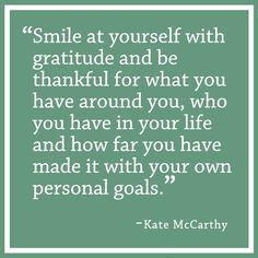 Quotes We Love: National Makeup Artist Kate McCarthy