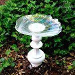 Bright Idea: Lamp Bird Bath