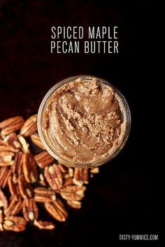 Spice Maple Pecan Butter recipe #food #paleo #glutenfree