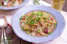 LOVE this Olive Oil twist on a traditional Louisiana roux... Give it a try in this Chicken Andouille Sausage Gumbo! - Olive Oils from Spain