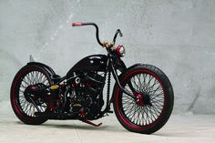 Custom, way custom bike