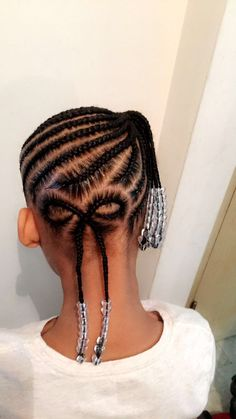 yarn hairstyles hairstyles child hairstyles for kenyan ladies hairstyles with shaved sides and back hairstyles romantic braided hairstyles 2018 braid hairstyles braid # individual Braids with beads Childrens Hairstyles, Baby Girl Hairstyles, Natural Hairstyles For Kids, Kids Braided Hairstyles, Natural Hair Styles, Hairstyles 2018, Black Hairstyles, Trendy Hairstyles, Short Haircuts