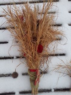 Rustic Country Wedding Bouquet & Boutonniere-Natural Dried Pasture Grass Ebay