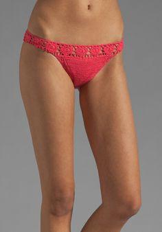 Lisa Maree Crochet Bikini in Pink (coral) | Lyst
