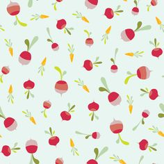 Root vegetables pattern by Hikje