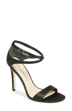 Free shipping and returns on Via Spiga 'Tiara' Sandal (Women) at Nordstrom.com. Slim crossed ankle straps refine a high-heeled