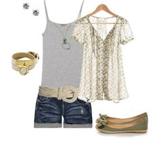 Summer set created by jenfell on Polyvore