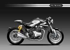 Motosketches: ARIIC 961 BLACKSTEEL CONCEPT