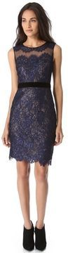 Notte by marchesa Lace Dress with Sequin Layer on shopstyle.com