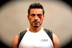 Tony Stark hurt during his missing