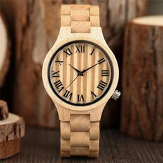 >> Click to Buy << Creative Nature Wood Bamboo Wristwatch Womens Watches Top Brand Casual Wooden Bangle Watches Simple Ladies Dress Reloj de madera #Affiliate