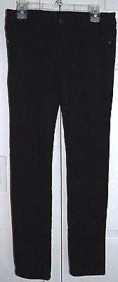 Vigoss Girls Black Stretch Jeggings Skinny Pants Bling Size 10 js