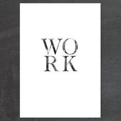 MANDAGS-PRINT: WORK