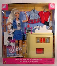 cool shopping barbie