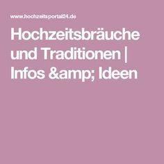 Hochzeitsbräuche und Traditionen   Infos & Ideen