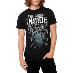 The Ghost Inside Heart T-Shirt | Hot Topic ($31)