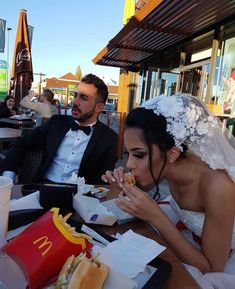 When youre getting married but #food is life Tag someone who would do this on their #weddingday