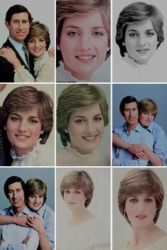 Official Portraits marking the engagement of His Royal Highness The Prince of Wales to Lady Diana Frances Spencer Princess Diana Hair, Princess Diana Family, Princess Diana Pictures, Royal Princess, Images Of Princess, Prinz William, Diana Fashion, Lady Diana Spencer, Royal Weddings