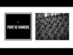 Le point de vannerie - YouTube Le Point, Couture, Merino Wool Blanket, Chevron, Knitting, Points, Tejidos, Learn How To Knit, Tuto Tricot