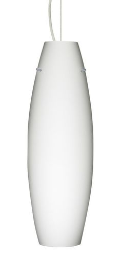 View the Besa Lighting 1KX-412707-SN Satin Nickel Tara 1 Light Cable-Hung Pendant with Opal Matte Glass Shade at Build.com.