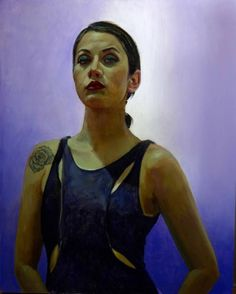 "Saatchi Art Artist Michael Foulkrod; Painting, ""sarah"" #art"