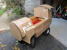 DIY Tank Engine from a wagon