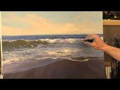 Come dipingere il mare e le onde – Video tutorial | Stile Arte