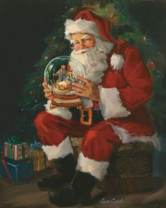 Santa Believes by Susan Comish