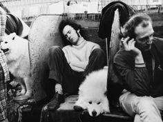 © Shirley Baker Sleeping at the Manchester Dog Show Circa 1970