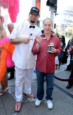 """Penn Jillette Launches """"Celebrity Apprentice"""" Ice Cream at #Walgreens on Las Vegas Strip on May 13, 2013"""