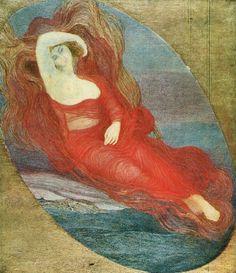 Giovanni Segantini, Goddess of Love, 1894