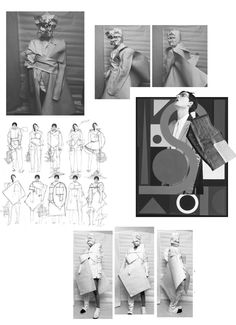 WAYWARD FASHION – New Waves: Une Yea : Fashion Sketchbook - fashion sketches;
