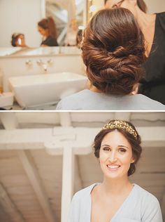 See related links to what you are looking for. Bride Makeup, Wedding Hair And Makeup, Bridal Hair, Hair Makeup, Vintage Hairstyles, Girl Hairstyles, Wedding Hairstyles, Wow Hair Products, Wedding Hair Inspiration