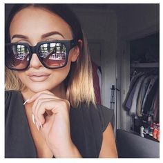 332c0a6301 UK girl  sarahhashcroft wearing the On The Prowl sunnies. Photo courtesy of   whitefoxboutique