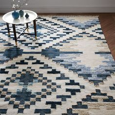 checkerboard rugs