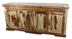 Primo Country Sideboard Clear Finish - 4 Door   Home Decor   rustic bedroom furniture   #furniture