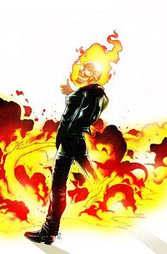 Ghost Rider peeing by Nolife Edi Marvel Comic Character, Marvel Characters, Character Art, Character Design, Marvel Art, Marvel Heroes, Marvel Avengers, Anime Echii, Art Anime