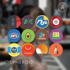 Spheroid Icons v1.2.0
