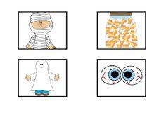 Primary French Immersion Resources: Le vocabulaire de l'Halloween
