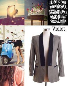 Violet via  @Lily and Violet    # Pin++ for Pinterest #