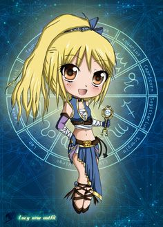 fairy tail, chibi, lucy
