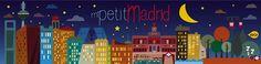 vireta: ilustración  Mi petit Madrid de noche