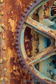 Rusty Stuff ~ gorgeous!
