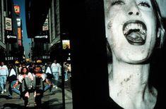 Alex Webb - NYC. 1996. 6th. Avenue street scene.