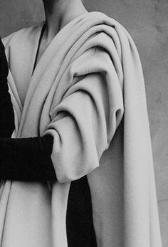 Vintage Balenciaga.  Fashion as architecture.