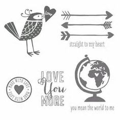 stampin up love you more stamps - Yahoo Image Search Results