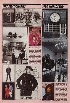 430 Kings Kings Road in 19 Magazine Vivienne Westwood, Punk Fashion, Fast Fashion, British Punk, Hippie Movement, 70s Punk, Boho Rock, Plakat Design, Teddy Boys